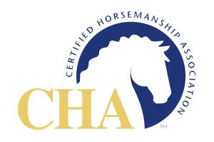 CHA – Certified Horsemanship Association