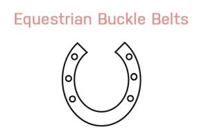 Equestrian Buckle Belts