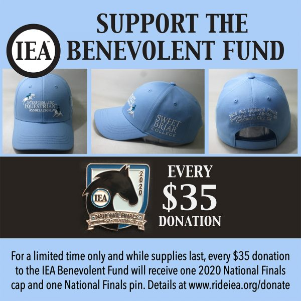 Benevolent Fund Cap Pin Donation