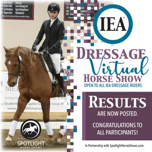 Deadline Extended_IEA Dressage Virtual Horse Show SM Button