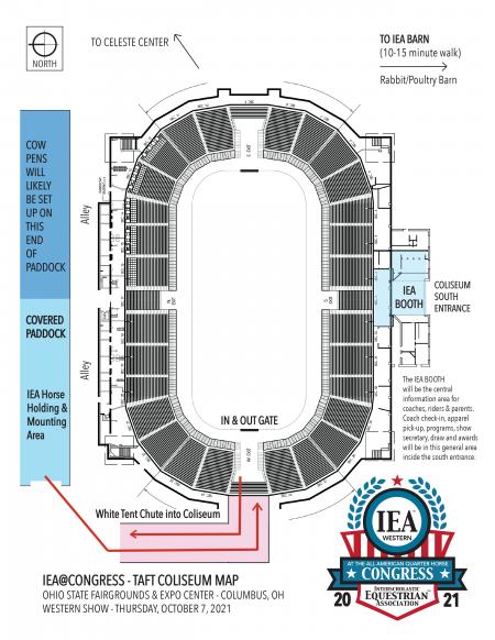 IEA Congress Coliseum Map