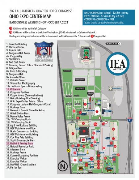Ohio Expo Center Map_Congress_IEA Show